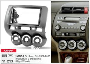 31211 2-DIN Radioblende für HONDA Fit, Jazz 2002-2008 (manuelle Klimaanlage) (Ri