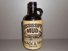 Mississippi Mud Black & Tan Beer Empty 32oz. Bottle