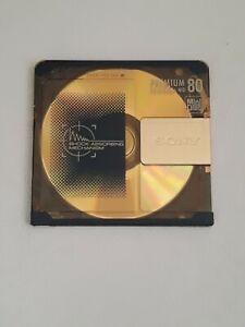Sony Premium Gold Mini Disc MD 80 - Shock Absorbing Mechanism (MDW-80D)