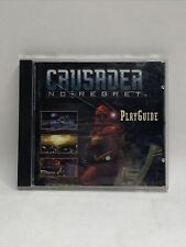 CRUSADER: NO REGRET PLAYGUIDE (PC, 1996) CD-ROM Game
