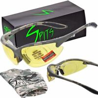 MAGshot Hunting Shooting Safety Glasses Camo Frame Full Magnifying- Various Lens