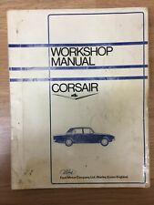 Genuine Ford Motor Company Workshop Manual: Corsair 4 Range