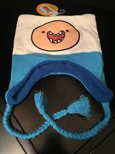 New W Tags Adventure Time Finn Peruvian Beanie Laplander Hat Cartoon Network