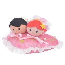 Little Mermaid Ariel Eric Plush Tsum Tsum S mini Wedding Set Disney Store Japan