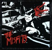 Misfits Bullet Embroidered Patch M026P Danzig The Cramps Ramones Black Flag