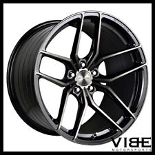 "19"" STANCE SF03 BLACK CONCAVE WHEELS RIMS FITS BENZ W212 E350 E550 E63"