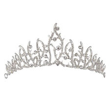 Crystal Rhinestone Tree Branches Tiaras Crown Headband Bridal Wedding Jewelry