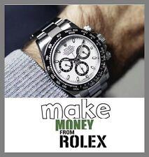 """Orologio Rolex sito Web aziendale fino a £ 1,912.50 una vendita. """" 9000 visitatori di un mese"""""""
