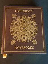 Easton Press, Leonardo Da Vinci, Leonardo's Notebooks Suh