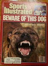 Sports Illustrated Magazine July 27, 1987 Paperback Pit Bull Terrier Mattingly