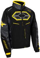 Castle X Mens Blade G4 Jacket Black/Charcoal/Yellow Size M-3XL  Ski Doo yellow
