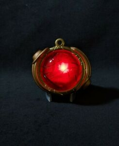 Stargate SG-1 Goa'uld pendant. Illuminated prop replica - 3D printed and painted