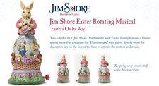 Jim Shore Easter Rotating Bunny Musical Figurine ~ 4044668