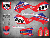 Custom Graphics Full Kit to Fit Honda CR 125 1998 - 1999 ACTIVE STYLE stickers