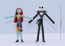 Tim Burton's The Nightmare Before Christmas 9.3cm Figure -  JACK,SALLY