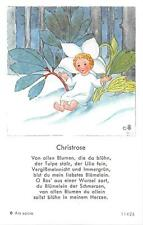 "Fleißbildchen Heiligenbild Gebetbild  Ida Bohatta Holycard"" H2537"""