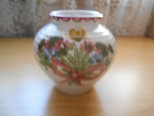 Vintage 3-1/2'' Hand Painted Vase Made in Germany #105