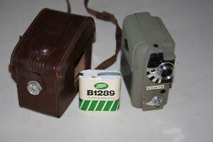 Eumig Electric 8 Cine Camera Circa 1957