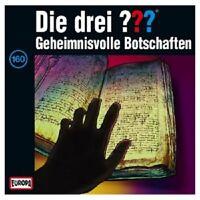 DIE DREI ??? - 160/GEHEIMNISVOLLE BOTSCHAFTEN  CD  HÖRSPIEL  NEU