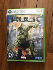 The Incredible Hulk (Microsoft Xbox 360, 2008) W/Manual