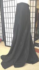 VINTAGE LONG BLACK BALLROOM STYLE  CIRCLE DRAMATIC SKIRT SMALL