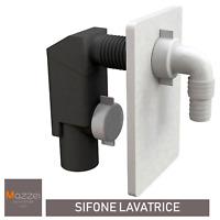 SIFONE INCASSO SCARICO LAVATRICE E LAVASTOVIGLIE DIAM. 40mm