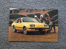 1978 olds star fire postcard