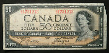 Canada $50, 1954. Devils Face note.
