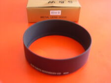 New Metal 82mm Standard Screw-in Lens Hood