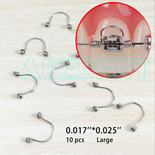 0.017'' * 0.025'' Large Orthodontic Goodman Anterior teet Torquing Spring 10 pcs