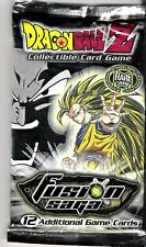 """Dragonball Z DBZ - """"Fusion"""" 12 Card Sealed Booster Pack"""