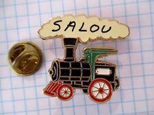 PINS RARE SALOU SPAIN STEAM TRAIN TREN DE VAPOR TRAIN A VAPEUR LOCOMOTIVE m1/2