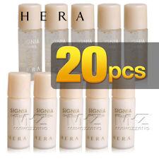 HERA Signia Water Emulsion 20pcs 100ml Set Whitening Anti-Aging Unique Samples