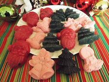 ASSORTED HOLIDAY TART MELTS IN YOUR CHOICE OF FRAGRANCE- Min 18Pcs