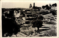 Jerusalem Israel alte Postkarte ~1950/60 General view of Bethany Gesamtansicht