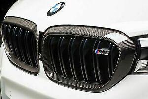 BMW Genuine M5 Kidney Grilles Carbon M Performance F90 51712447091 51712447092