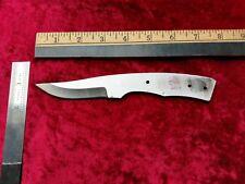 Steel Knife Blade 1075 High Carbon Handmade Hunting / Fishing / Bushcraft 12