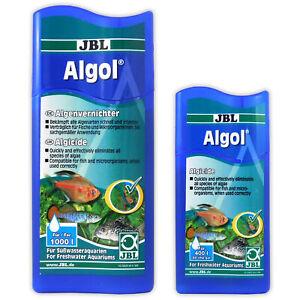 JBL Algol Algae Algaecide Anti Brown Green & Hair Algae Aquarium Fish Tank