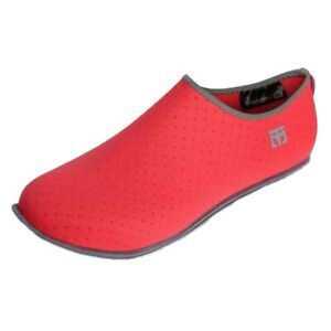 MOOTO MA Shoes Sock type for martial art Non easy-slip Hygiene Keep Warmth Red