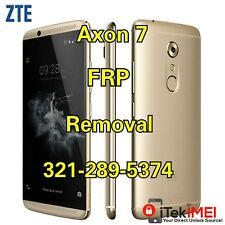 ZTE Axon 7 A2017U Google Account Removal Bypass/Unlock, Reset FRP ☆Remotely☆