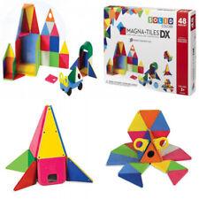 Magna-Tiles 02148 Solid Colors 48 Piece DX Set Toy