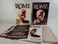 Europa Universalis ROME (PC Game) All Original  w/Paperwork and map