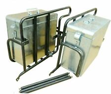 Fitting LH RH Luggage Carrier With Saddle Case Box for Royal Enfield Classic New