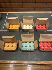 Lot of 36 PartyLite Votive Candles Assorted Party Lite Votive Candles New