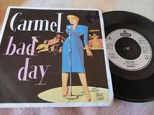 """Carmel - Bad Day (7"""" single) picture sleeve - VG/VG"""