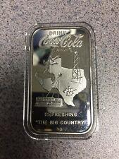 Coca Cola Abilene, Texas Sterling Silver Bar 75th Anniversary