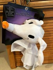 "DISNEY Nightmare Before Christmas Hanging Decoration 18"" Plush ZERO"