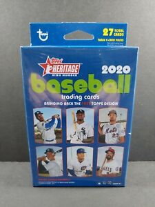 ⚾️2020 Topps Heritage High Number Hanger Box 27 Cards-NEW-Sealed LUIS ROBERT ?