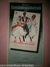Mazurka der Liebe DDR Filmplakat 1957 60x28 cm geroll East german movie poster