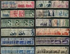 FRANCE 1930-53 COMMEMORATIVES 500 stamps FINE USED DUPLICATED SG cv £290